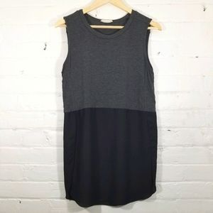 $5 Add-On - Hug Grey and Black Sleeveless Top